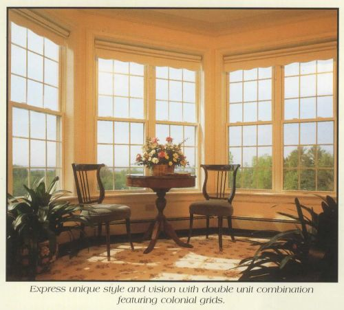 Engulf a corner with light with two classic double-hung windows.